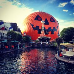 Europa Park - Rust, Germany at Halloween