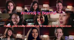 America is Beautiful, using Coke commercial to teach tolerance.