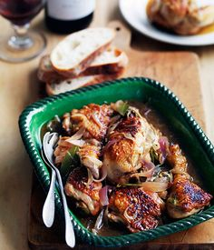 Chicken with Marsala and lemon - Gourmet Traveller
