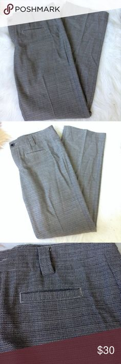 "Cabi sz 8 pant 32"" inseam Cabi pant.  Has crease down center. Faux front slight back and front pocket. Button and zip closure Pants Trousers"