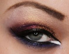 This is going to be my new signature look... @Emily Davis Do this to me. mmmmk? without the white part...