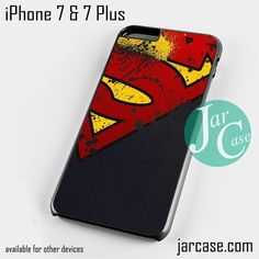 man of steel aka superman Phone case for iPhone 7 and 7 Plus