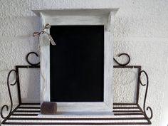 Memo blackboard - Lavagna in legno con cancellino -