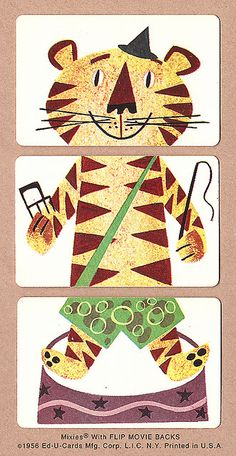 Tiger   1956 Mixies® by Ed-U-Cards