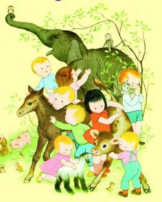 Gyo Fujikawa - His Baby animals book is a treasured memory from childhood and I recently discovered how many books he has!