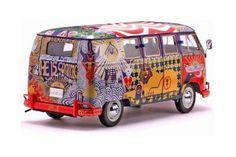 Diecast Toy Car: SUN STAR 1/12 SCALE - 1969 Woodstock Bus Volkswagen ...