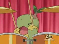 who ever knew he could play the drums