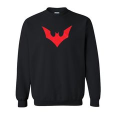 Batman Red Logo Sweatshirt