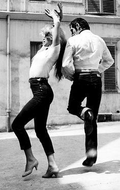 Brigitte Bardot | dance | feel the music | starlet | black & white photography | dancing