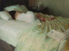 Jeremy Lipking, Interlude, oil, 22 x - Southwest Art Magazine John Singer Sargent, California Art, Southwest Art, Pretty Art, Magazine Art, Figure Painting, Artist At Work, Art Inspo, Contemporary Art