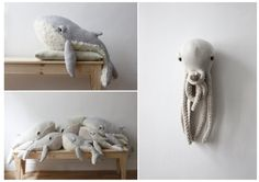 "Dana is an Israeli fashion designer based in Paris and BigStuffed is a personal project that she always dreamed off. ""They are soft and cuddly and they have real feelings. These creatures were created to be a new family member…"" The first creature was the octopus that Dana created for her niece as a welcome …"