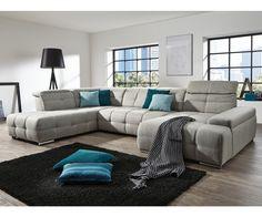 Rohová sedací souprava do U - MISTRAL Couch, Furniture, Home Decor, Homemade Home Decor, Sofa, Couches, Home Furnishings, Sofas, Sofa Beds