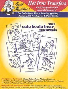 Aunt Martha 3829 - Koala Bears