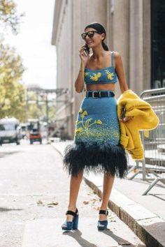 Paris str V RS18 1450, women's fashion, street fashion, street style