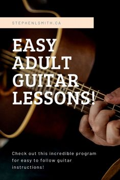 Adult Guitar Lessons - Guitar for Grownups! All Guitar Chords, Acoustic Guitar Lessons, Guitar Chord Chart, Guitar Scales, Learn Guitar Online, Learn To Play Guitar, Basic Guitar Lessons, Music Lessons, Guitar Chord Progressions