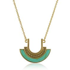 Sarah Bohemian Style Delicate Chain Necklace for Women #Green #Fashion #Necklace #Bohemian