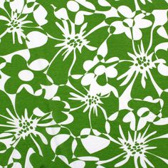 London Calling Spring Green Cotton Jersey Knit Fabric - just bought for a spring top