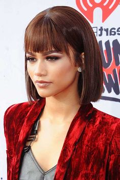 29. Bob Hairstyles with Bangs