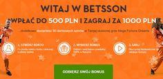 WITAJ W BETSSON WPŁAĆ DO 500 PLN I ZAGRAJ ZA 1000 PLN.  http://www.jednoreki-bandyta-online.com/kasyno-news-i-bonusy/witaj-w-betsson-wplac-do-500-pln-i-zagraj-za-1000-pln  #betsson #jednorekibandyta #witajwbetssonwplacdo500plnizagrajza1000pln