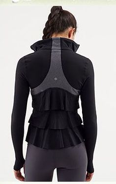 A jacket designed specifically for running, however also designed suitable for 'everyday' wear