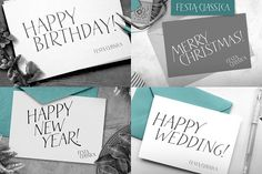 Festa Classica Family - Display Greek Font, Handwritten Type, Open Type, Web Design Tutorials, Graphic Design Typography, Place Card Holders, Lettering, Party, Calligraphy