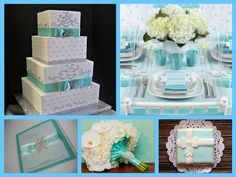 Tiffany theme wedding Tiffany Blue Party, Tiffany Theme, Breakfast At Tiffanys, Color Combinations, Favorite Color, Decorative Boxes, Chocolate, Wedding, Inspiration