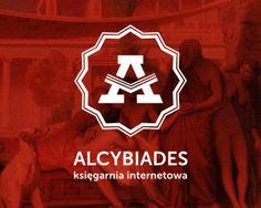 Logo dla księgarni internetowej Alcybiades.