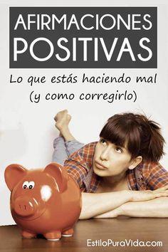 Las #afirmaciones #positivas funcionan, pero es fácil sabotearlas Revisa los errores más comunes.