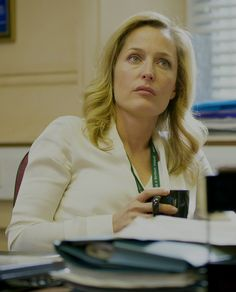 Gillian Anderson as Stella Gibson The Fall