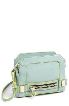 botkier cross body bag in mint Would look cute with the prior dress just posted…one w/diff colors and mint in it! Clutch Bag, Crossbody Bag, Leather Crossbody, Beautiful Bags, My Bags, Purses And Handbags, Leather Bag, Fashion Accessories, Shoe Bag