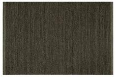 Aryan Flat-Weave Rug, Charcoal
