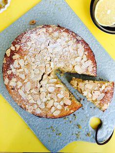 Lækker Low Carb citronkage - glutenfri og sukkerfri opskrift
