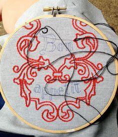 Embroidery Sandwich Case