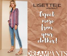 Bleached Denim, You Look, Montreal, Spring, How To Wear, Pants, Clothes, Trouser Pants, Outfits