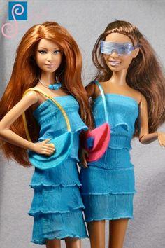 Barbie clothes (dress): Aphrodite
