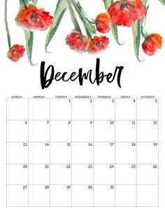 2020 Free Printable Calendar – Floral – Paper Trail Design – Office organization at work Work Calendar, Cute Calendar, Print Calendar, Calendar Pages, Blank Calendar, Calendar Templates, Printable Calendars, Monthly Calendars, Wall Calendars