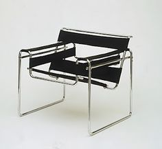 The Wassily Chair, also known as the Model B3 chair, was designed by Marcel Breuer in 1925-1926 while he was the head of the cabinet-making workshop at the Bauhaus, in Dessau, Germany.