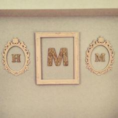 Monogram frames!