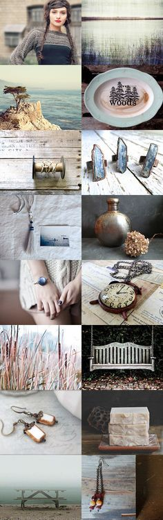 ~ Winter Woods ~ by SuSaN Wagner on Etsy