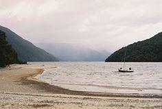 Lake Manapouri, New Zeland