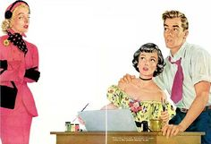 Pin-up, Illustrations, Advertisments, and Other Things that are Not Pulp Covers Vintage Girls, Vintage Art, Vintage Clip, Pulp Fiction Art, Romance, Film Strip, Vintage Greeting Cards, Cartoon Pics, Pin Up Art