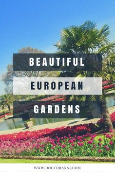 Visiting local gardens is an inexpensive way to enhance your travel itinerary!