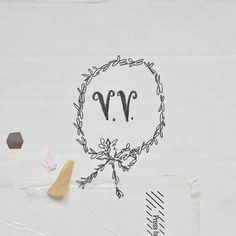 hand-lettered initials / jihan zencirli.