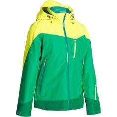 Veste ski jaune decathlon