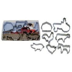 R and M International 1939 Farm Theme 7-Piece Cookie Cutter Set >> Hurry! Check out this great item : Baking Accessories