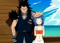 Gajeel and Levy *Fairy Tail*