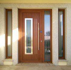 House Main Door Design, House Window Design, Door Design Interior, House Design, External Hardwood Doors, Classic House Exterior, Ceiling Design Living Room, Modern Door, House Elevation