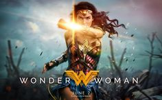 This latest look at Patty Jenkins' Wonder Woman contains some awesome new shots of Diana (Gal Gadot) and Steve Trevor (Chris Pine) in action. Plus, Gadot has debuted a stunning new one-sheet. Logo Wonder Woman, Wonder Woman Film, Gal Gadot Wonder Woman, Wonder Women, Wonder Woman 2017 Poster, Wonder Woman Movie Download, Wonder Woman Quotes, Captain Marvel, Marvel Dc