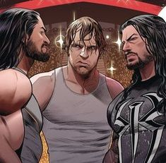 "Rollins, Ambrose, Reigns: ""The Shield"" #wwe"