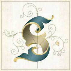 Letter S by Solvita Marriott